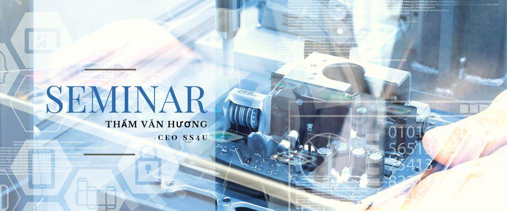 Seminar Giải pháp chuyển đổi số cho doanh nghiệp sản xuất